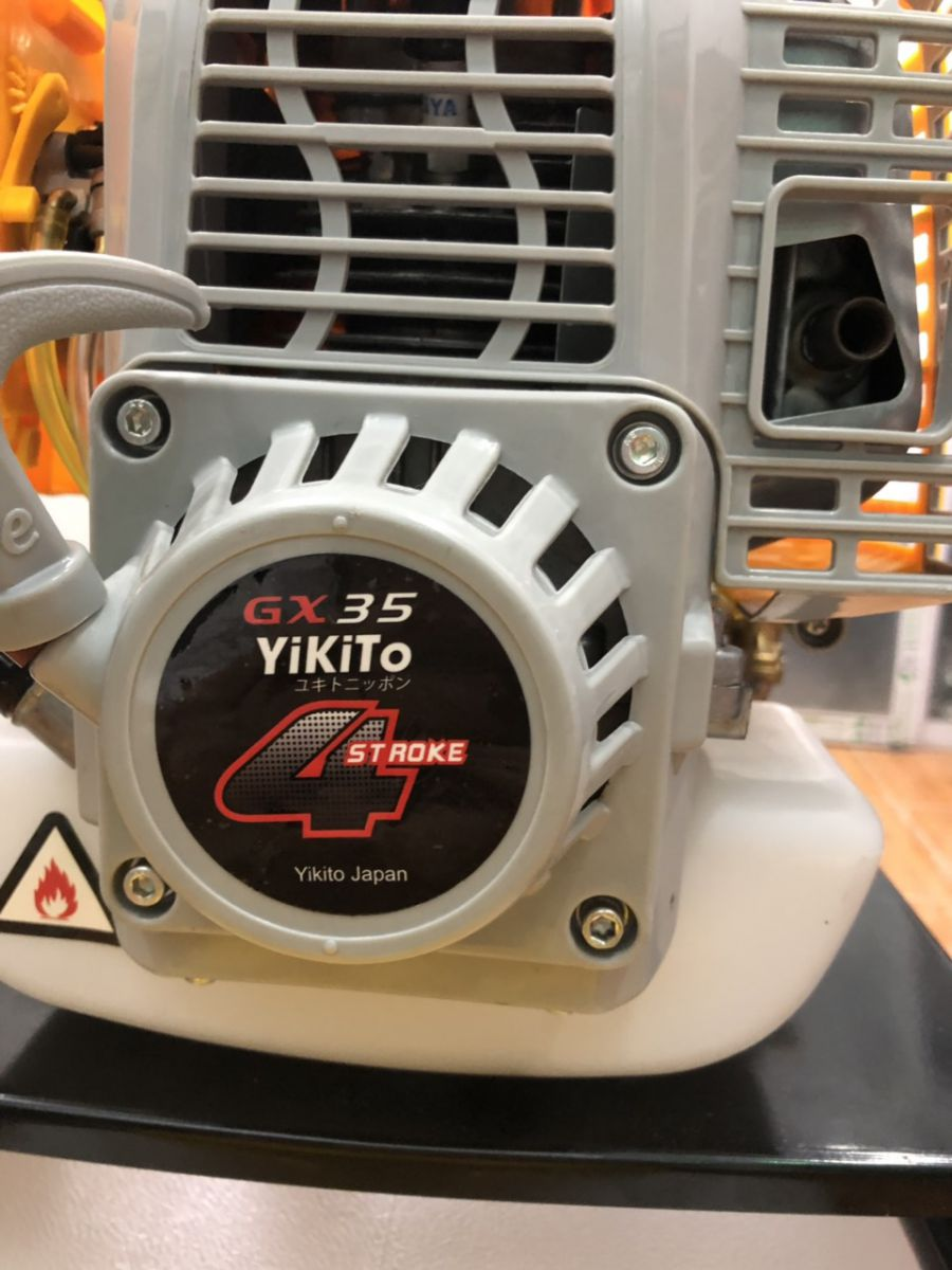 Máy phun thuốc đẩy tay Yikito GX35