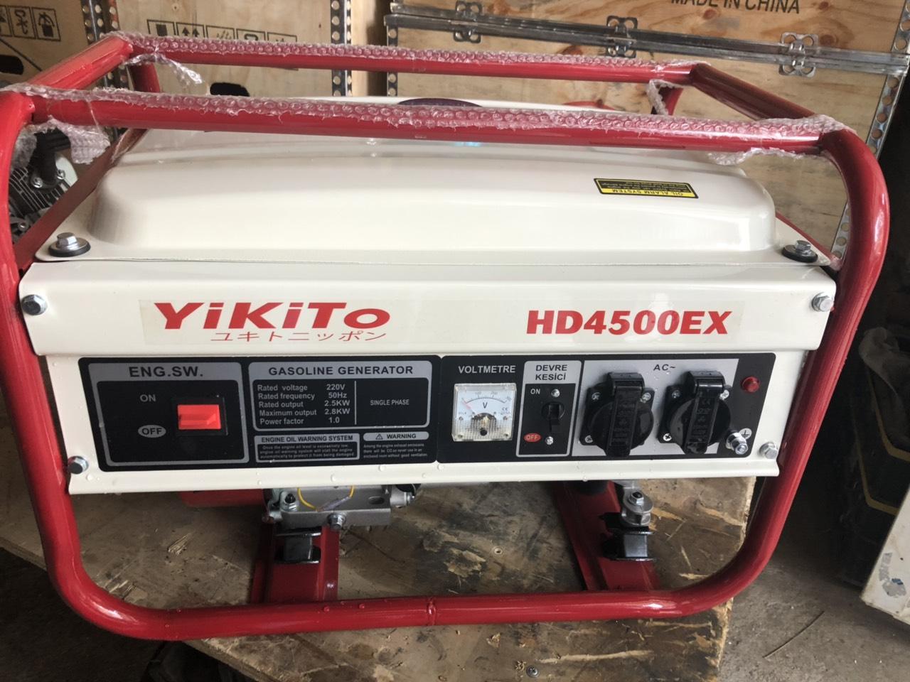 Máy phát điện Yikito HD4500EX Giật Nổ